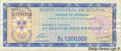 1000000 Pesos Bolivianos BOLIVIE  1985 P.192C TTB