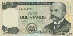 2 Bolivianos BOLIVIE  1987 P.202a NEUF