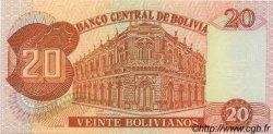 20 Bolivianos BOLIVIE  1987 P.205a NEUF