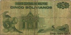 5 Bolivianos BOLIVIE  1993 P.209 B