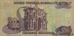 50 Bolivianos BOLIVIE  1995 P.220 B