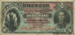 1 Boliviano BOLIVIE  1900 PS.131 TTB
