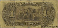 1 Boliviano BOLIVIE  1887 PS.221a TB