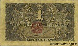 1 Peso COLOMBIE  1888 P.214 TTB