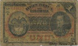 1 Peso COLOMBIE  1895 P.234 B
