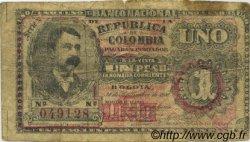 1 Peso COLOMBIE  1900 P.270 B
