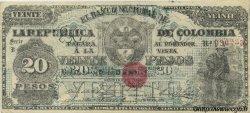 20 Pesos COLOMBIE  1900 P.276a SUP