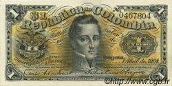 1 Peso COLOMBIE  1904 P.309 NEUF
