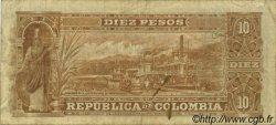 10 Pesos COLOMBIE  1904 P.312 TB