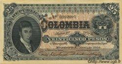 25 Pesos COLOMBIE  1904 P.313