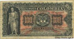 100 Pesos COLOMBIE  1904 P.315 TB