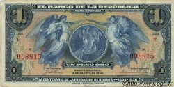 1 Peso Oro COLOMBIE  1938 P.385 TTB