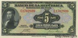 5 Pesos Plata COLOMBIE  1941 P.388 NEUF