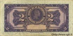 2 Pesos Oro COLOMBIE  1955 P.390d pr.TTB