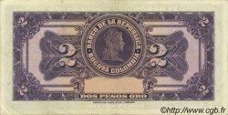 2 Pesos Oro COLOMBIE  1955 P.390d SUP