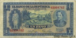 1 Peso Oro COLOMBIE  1953 P.398 TTB