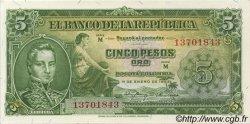 5 Pesos Oro COLOMBIE  1953 P.399a NEUF