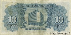 10 Pesos Oro COLOMBIE  1953 P.400a TTB