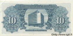 10 Pesos Oro COLOMBIE  1960 P.400b pr.NEUF