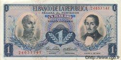 1 Peso Oro COLOMBIE  1964 P.404b SUP+