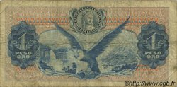 1 Peso Oro COLOMBIE  1966 P.404c B+