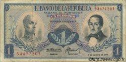 1 Peso Oro COLOMBIE  1973 P.404e TB
