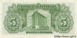 5 Pesos Oro COLOMBIE  1960 P.405 NEUF