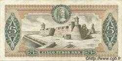 5 Pesos Oro COLOMBIE  1976 P.406e TTB