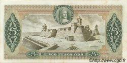 5 Pesos Oro COLOMBIE  1978 P.406f SUP
