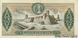 5 Pesos Oro COLOMBIE  1980 P.406f SUP