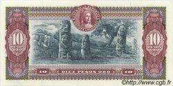 10 Pesos Oro COLOMBIE  1970 P.407d NEUF