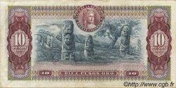 10 Pesos Oro COLOMBIE  1975 P.407f SUP
