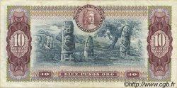 10 Pesos Oro COLOMBIE  1978 P.407f TTB