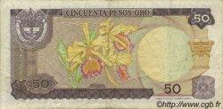 50 Pesos Oro COLOMBIE  1969 P.412a TTB