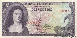 2 Pesos Oro COLOMBIE  1976 P.413b SUP+