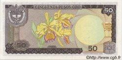 50 Pesos Oro COLOMBIE  1974 P.414 NEUF