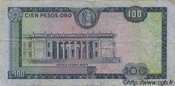 100 Pesos Oro COLOMBIE  1973 P.415 TB