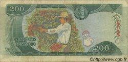 200 Pesos Oro COLOMBIE  1974 P.417a TB