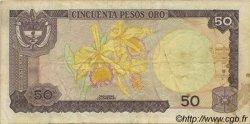 50 Pesos Oro COLOMBIE  1981 P.422a TB+