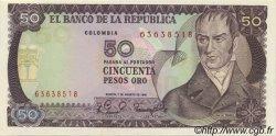 50 Pesos Oro COLOMBIE  1981 P.422a NEUF