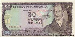 50 Pesos Oro COLOMBIE  1983 P.422b NEUF