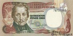 500 Pesos Oro COLOMBIE  1981 P.423a NEUF