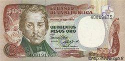 500 Pesos Oro COLOMBIE  1985 P.423c NEUF