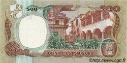 500 Pesos Oro COLOMBIE  1986 P.423c NEUF