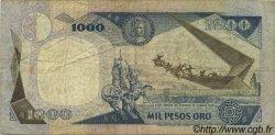 1000 Pesos Oro COLOMBIE  1984 P.424b TB