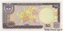 50 Pesos Oro COLOMBIE  1985 P.425a NEUF