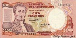 100 Pesos Oro COLOMBIE  1985 P.426b SPL