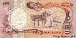 100 Pesos Oro COLOMBIE  1986 P.426b TTB