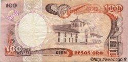 100 Pesos Oro COLOMBIE  1987 P.426c TTB