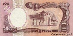 100 Pesos Oro COLOMBIE  1989 P.426d NEUF